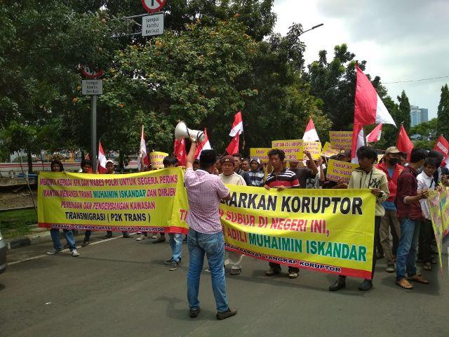 GERTAK Sambangi KPK dan Mabes Polri Minta Usut Aliran Dana Korupsi Kemenakertrans