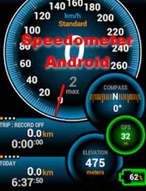 speedometer bergerak untuk hp android