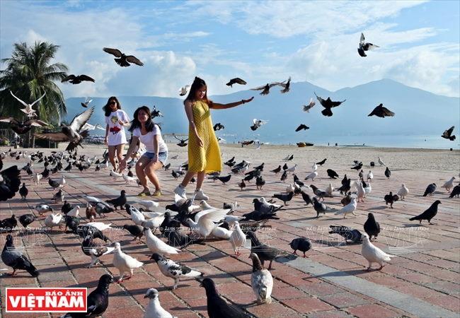 Khu giải trí buổi chiều - Công Viên Biển Đông Đà Nẵng