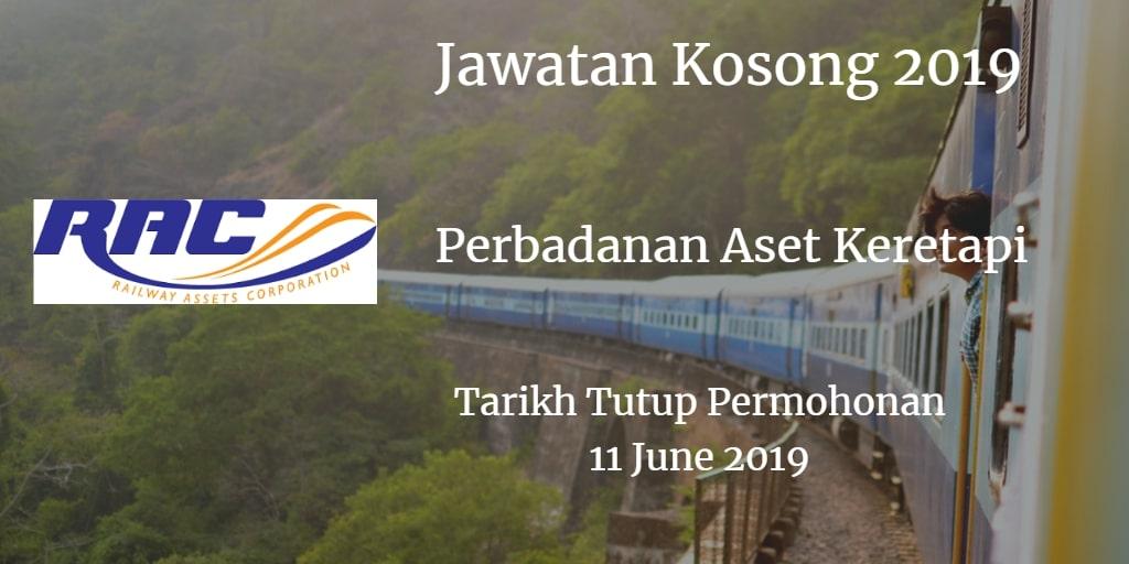 Jawatan Kosong RAC 11 June 2019