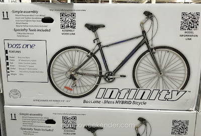Costco 1014315 - Infinity Boss.one Mens 7-speed Hybrid Bike - great for exercise and short commutes