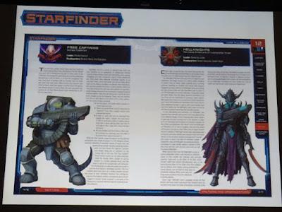 Novedades para Starfinder y Pathfinder desde la PaizoCon