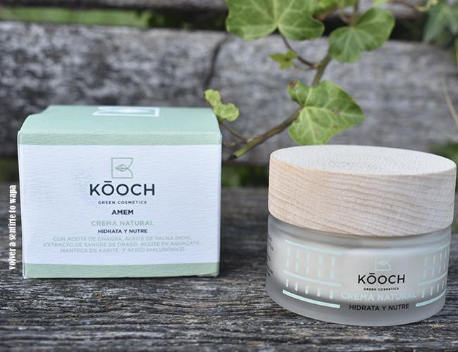 Kóoch Green Cosmetics: Crema Natural y Vegana ANEM
