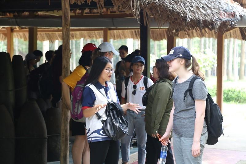 Sinh viên ngành Quản trị dịch vụ du lịch và lữ hành