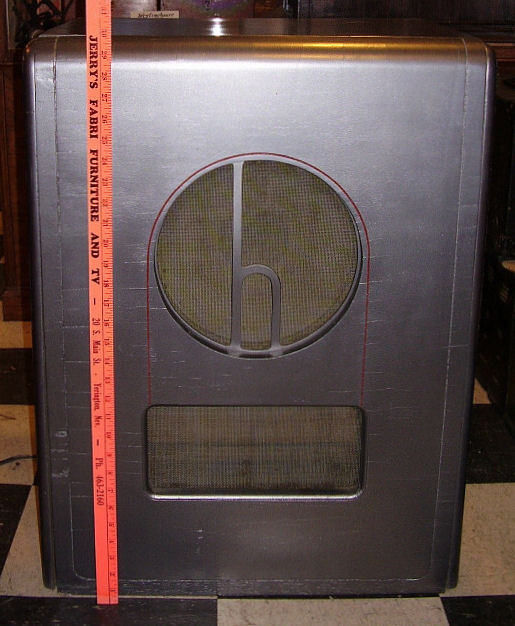 This is the original Hallicrafters speaker.
