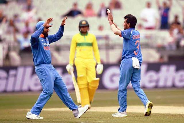 Australia vs India, 3rd ODI: चहल ने 6 विकेट झटके