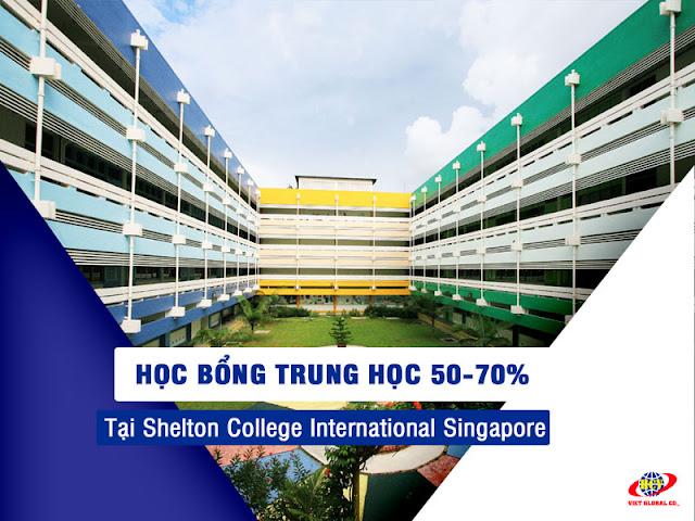 Du học Singapore: Học bổng trung học 70% tại Shelton