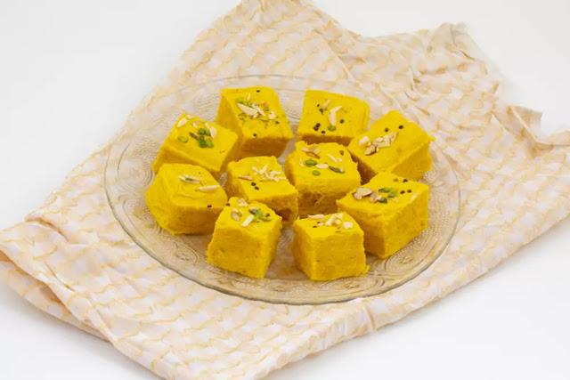 Soan Papdi Recipe in Hindi
