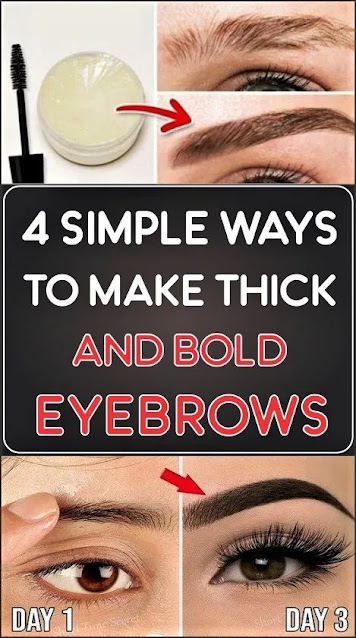 How to Make Thicker and Bold Eyebrows And Grow Eyebrows Faster