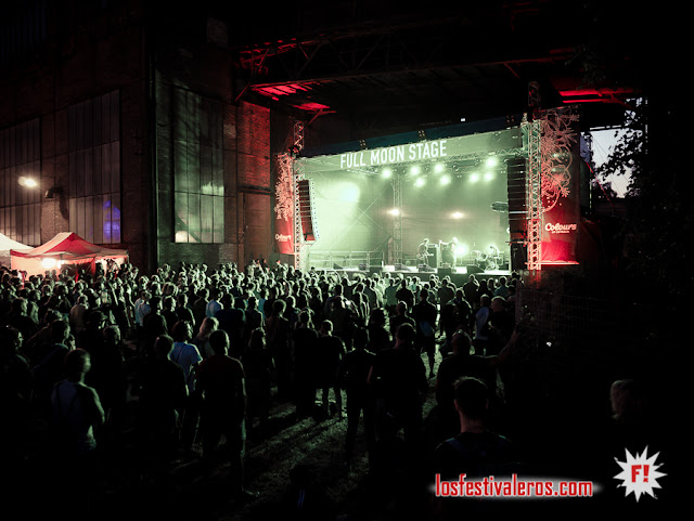 Full Moon Stage / Festival Colours of Ostrava 2019, Dolni Vitkovice, Ostrava, CZ