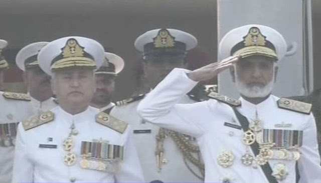 ISLAMABAD: Outgoing naval chief Admiral Zakaullah on Saturday handed over the command of the navy to Admiral Zafar Mehmood Abbasi