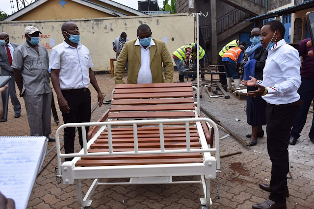 PDU sent by president to procure locally made beds. FILE