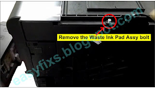 Turn the printer over so that the bottom of the printer is visible