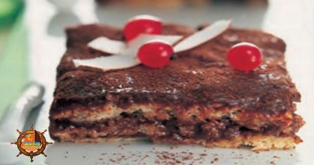 Pastel de Almendras con chocolate
