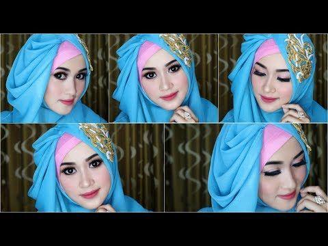 model jilbab pesta modis