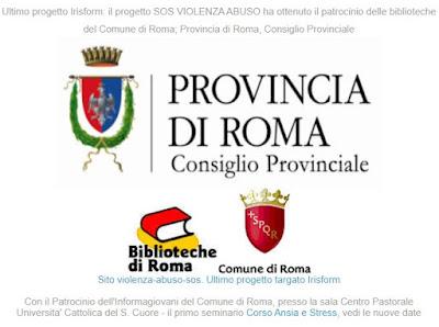Patrocini Comune di Roma, Biblioteche di Roma e Provincia
