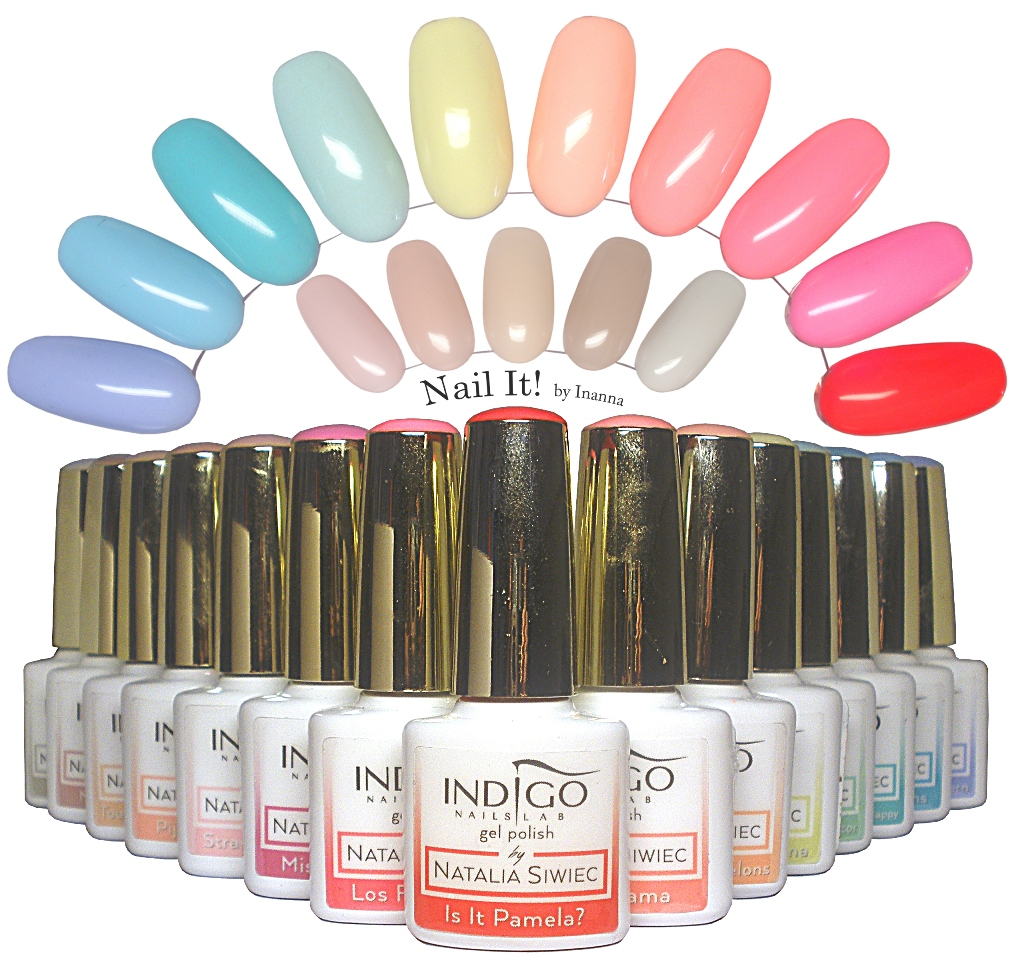 """Indigo Nails Lab """"Miami"""" Collection by Natalia Siwiec - swatches and review of all 15 shades"""