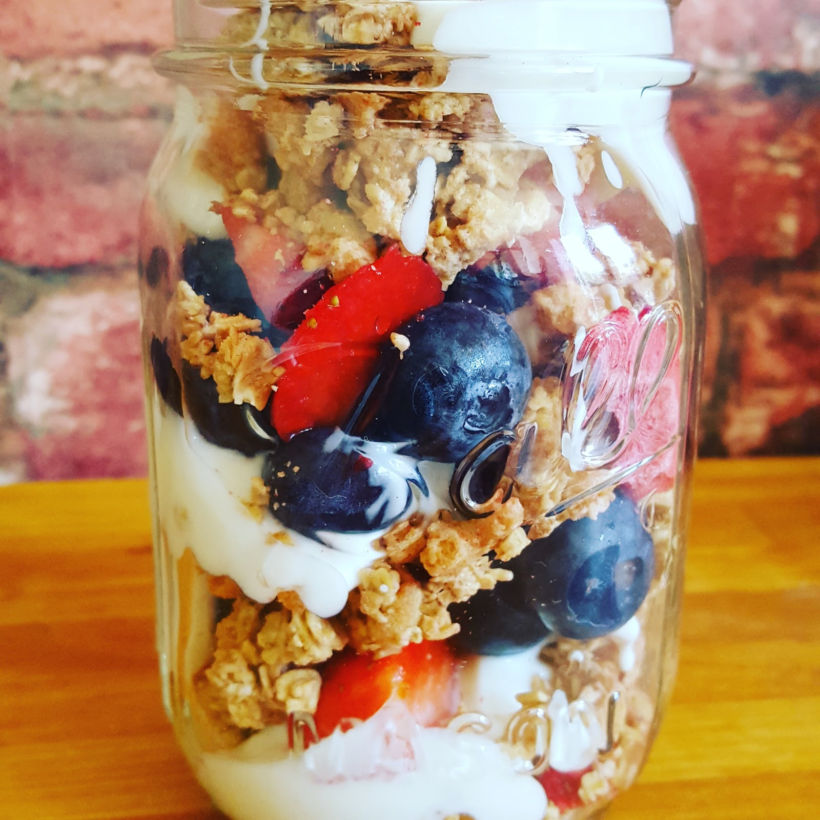 Granola, Berries And Yogurt Parfaits For Parfaits Day