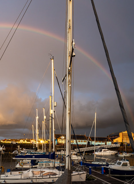 Photo of the other end of the same rainbow