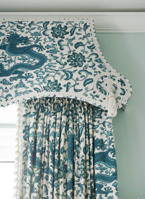 Tiffany Blue Curtain Ideas! RR Interiors
