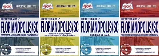 Apostila concurso Prefeitura de Florianópolis 2017