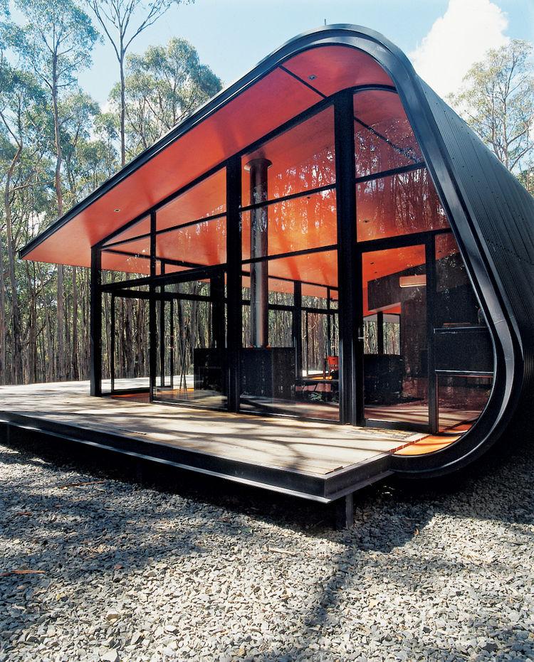 Casas modulares y prefabricadas de dise o acero y cristal - Casas de acero prefabricadas ...