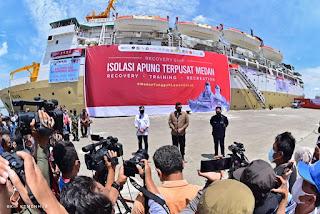 Pelindo 1 Dukung Percepatan Pemulihan Covid - 19 di Kota Medan