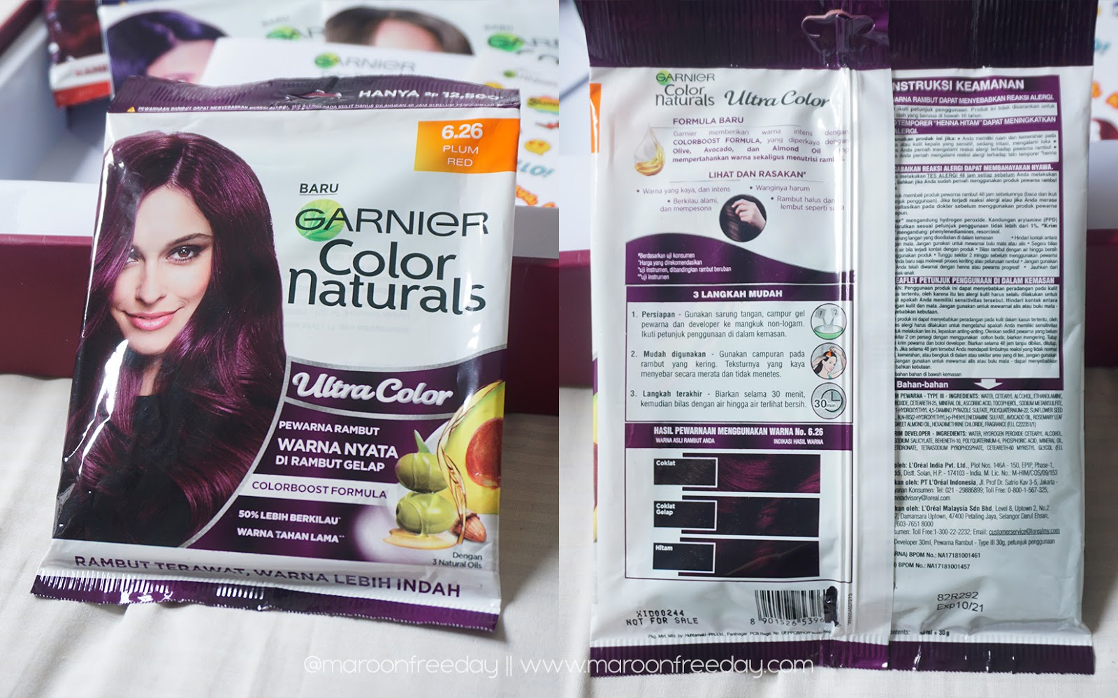 Review Garnier Ultra Color