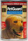Picture of Petguard Beef & Vegetable & Wheat Germ Dinner Canned Adult Dog Food