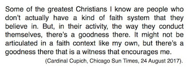 Cupich atheists