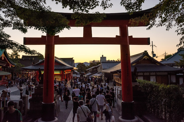 Japonsko, Japan, Kjoto, Kjóto, Torii, Fushimi Inari, Kyoto