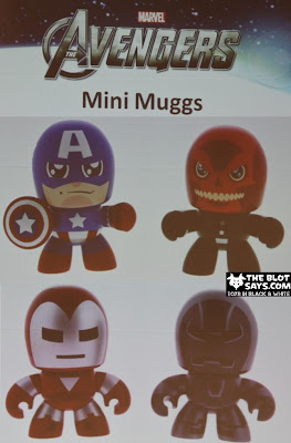 The Avengers Mini Mighty Muggs 2 Packs - Captain America vs Red Skull & Iron Man vs Iron Monger