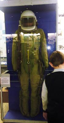 настоящий космический скафандр в Самарском музее Авиации и Космонавтики имени С. П. Королева