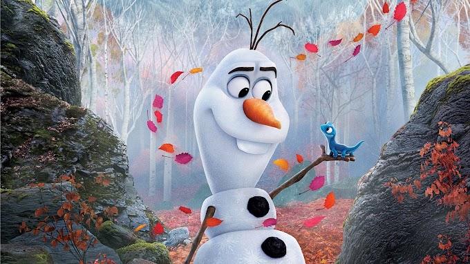 Papel de Parede Olaf para Quarto Infantil