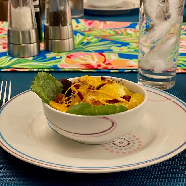 Moroccan Spiced Salad