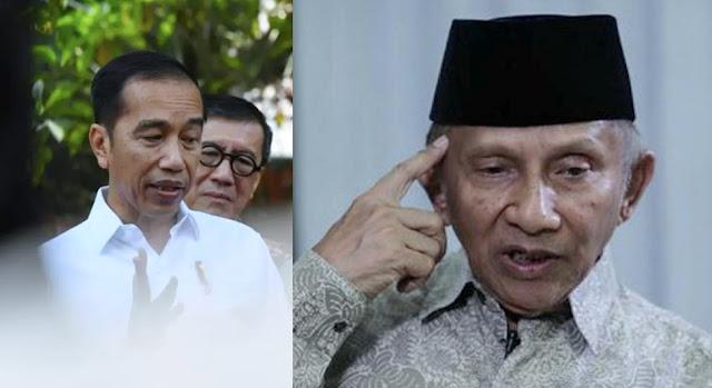 Jokowi Yakin Corona Usai di Akhir 2020, Mbah Amien: Ini Bukan Republik Dukun, Harus Berdasar Riset