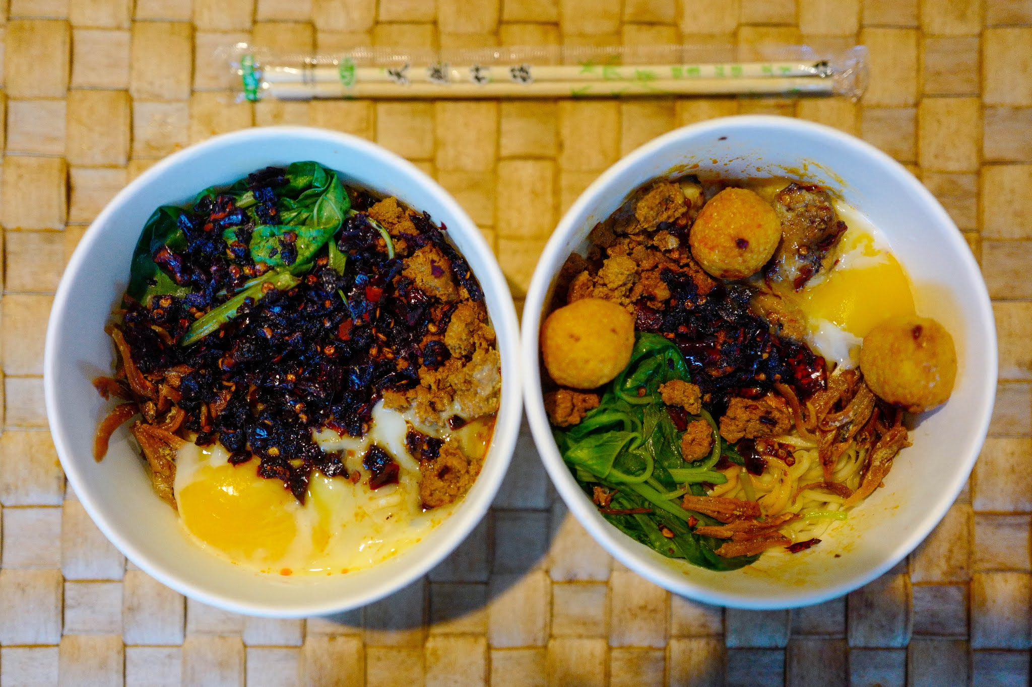 Mak Cik Wong: Chili Pan Mee Delivery