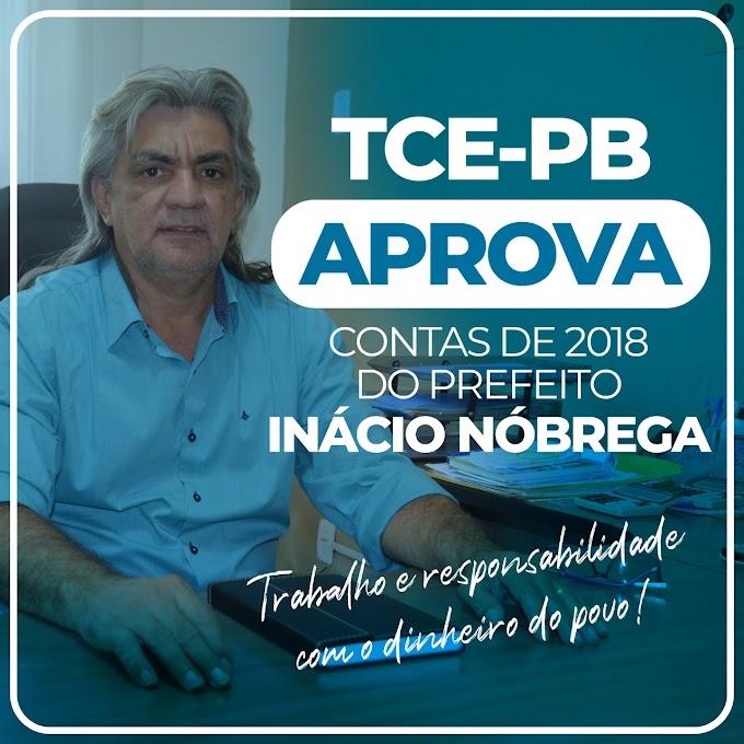 Prefeito Inácio Nóbrega tem contas de 2018 aprovadas por unanimidade pelo TCE