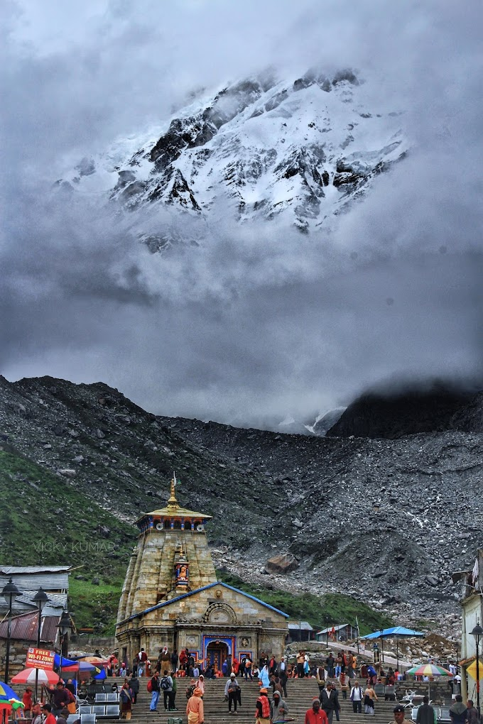 𝐌ᗩн𝔸𝐃єV at Kedarnath
