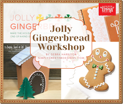 Fun gingerbread workshop delivered to your home with Paper Pumpkin!