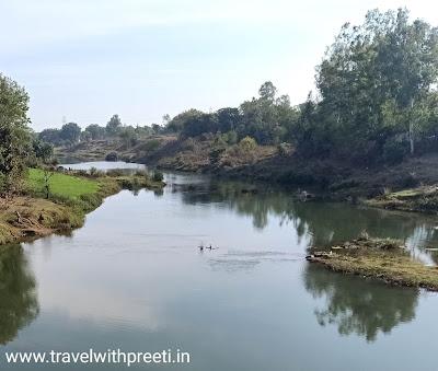 हिरण नदी का उद्गम स्थल  - The origin of the Hiran river