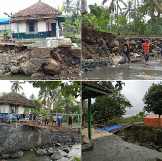 Relawan TangGer Rescue, Peduli Bencana Alam di Sukabumi, Korantangsel.com