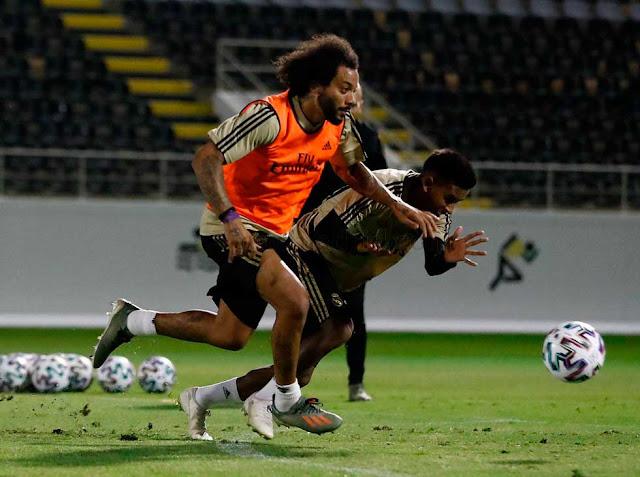 FÚTBOL: El Real Madrid regresa a los entrenamientos tras la exhibición en Yeda.
