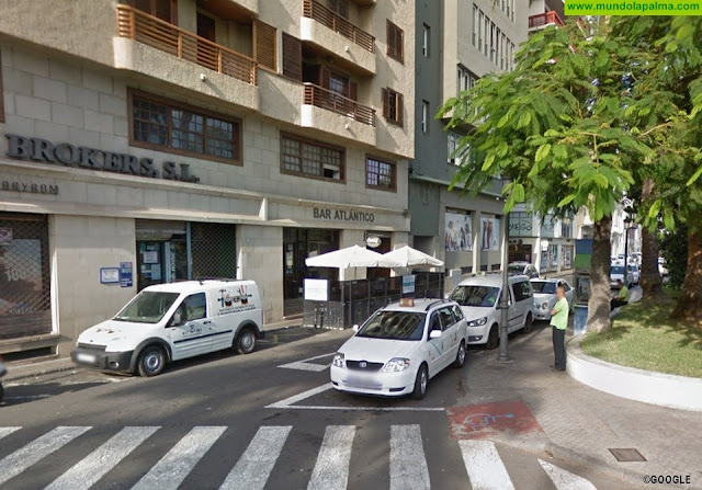 El Ayuntamiento de Santa Cruz de La Palma modifica la ubicación de la parada de Taxis de la C/. Álvarez de Abreu