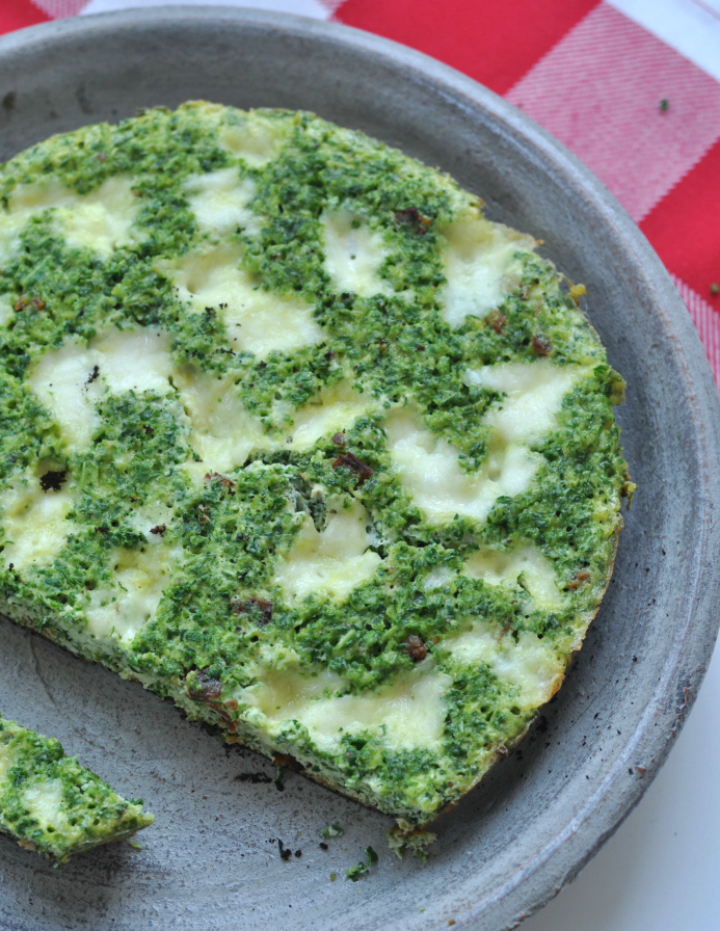 Frittata with Savoy - the Italian way of enjoying kale!