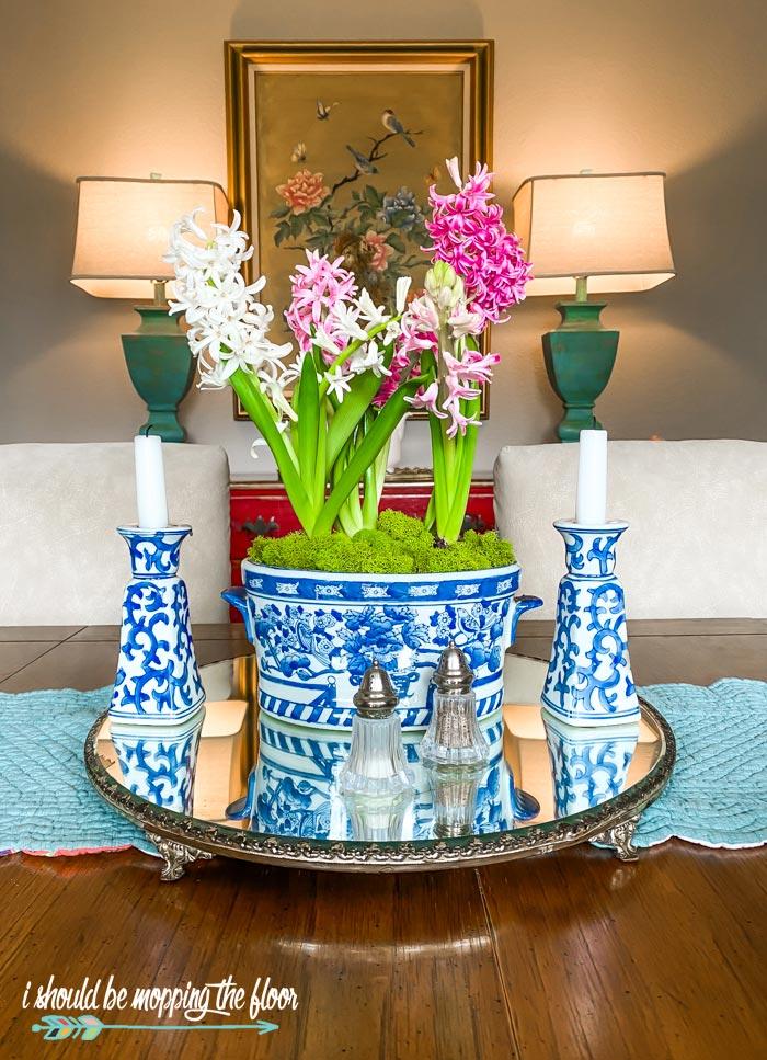 Hyacinth Centerpiece