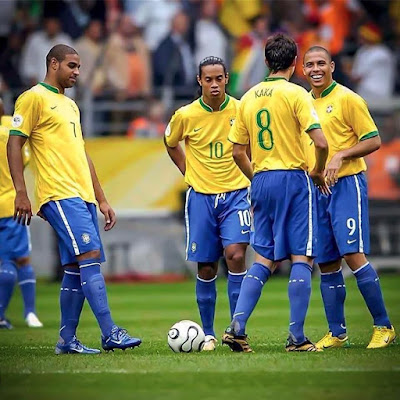 🇧🇷😵🌟 Once upon a time ... in #Brazil #team.....#CR7.