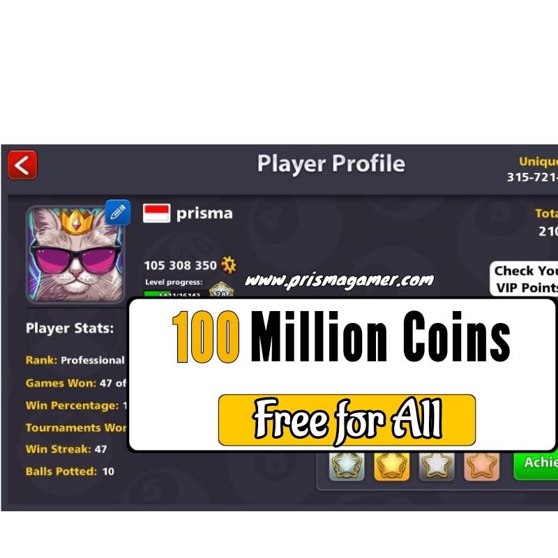 coins 8 ball pool free 10 million coins 8bp