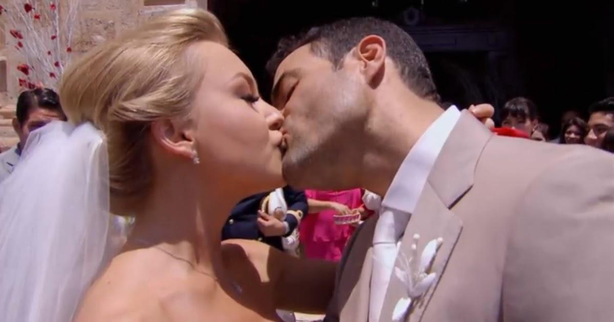 Matrimonio Jose Luis Repenning : La boda de montserrat y josé luis más telenovelas