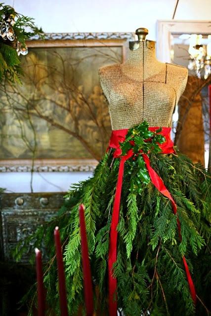 Mannequin Decore Pour Noel